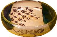 A piece of Oribe ware